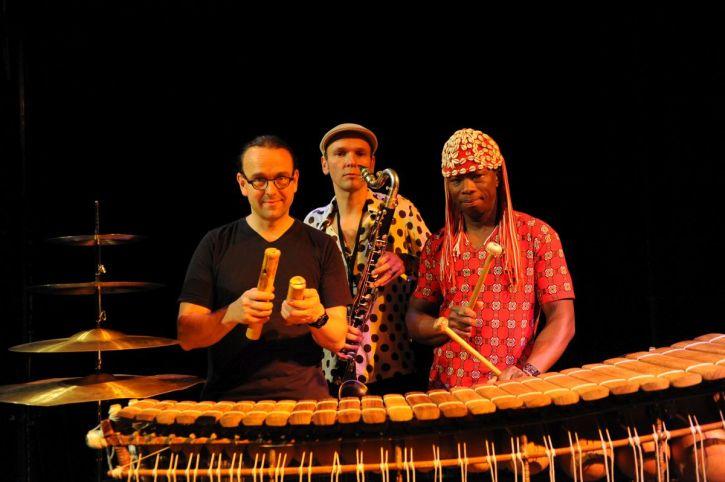 Aly Keïta, Jan Galega Brönnimann and Lucas Niggli