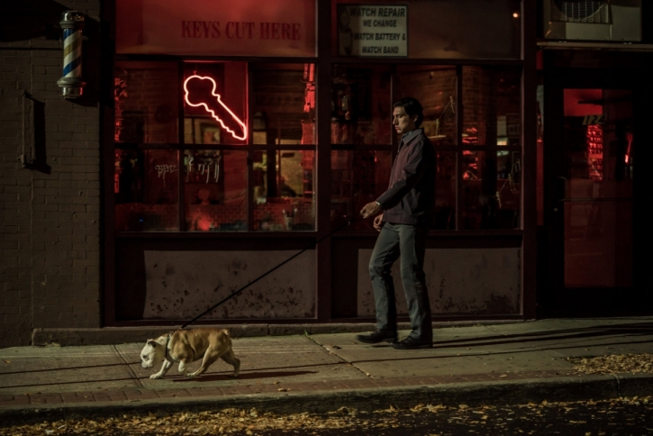 Paterson: walking the dog