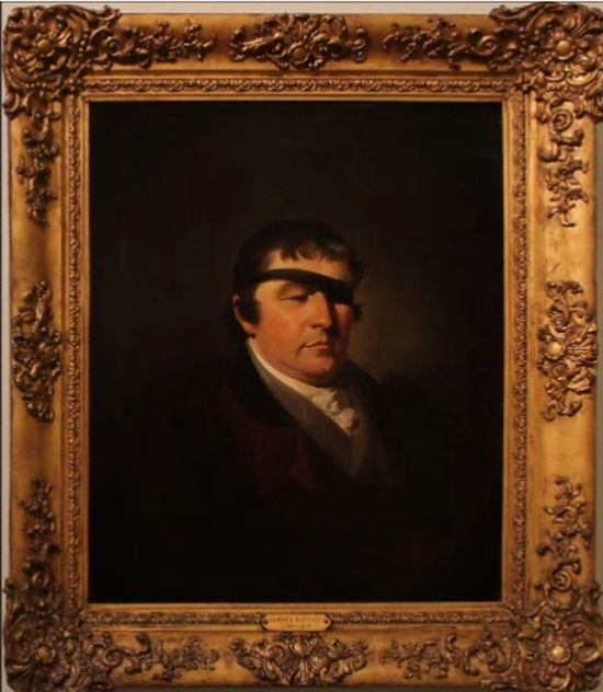 Edward Rushton's portrait painted by Moses Haughton (1773-1849)