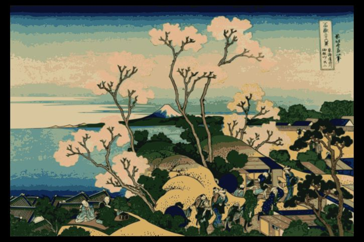 Hokusai, View of Mount Fuji