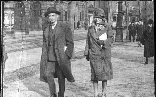 Joseph Roth and Irmgard Keun in Paris, 1930s