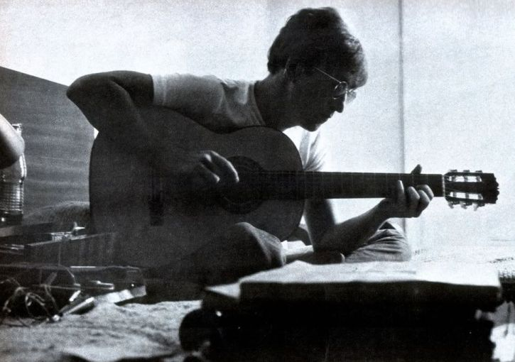 John Lennon composing Strawberry Fields Forever in Almeria, autumn 1966