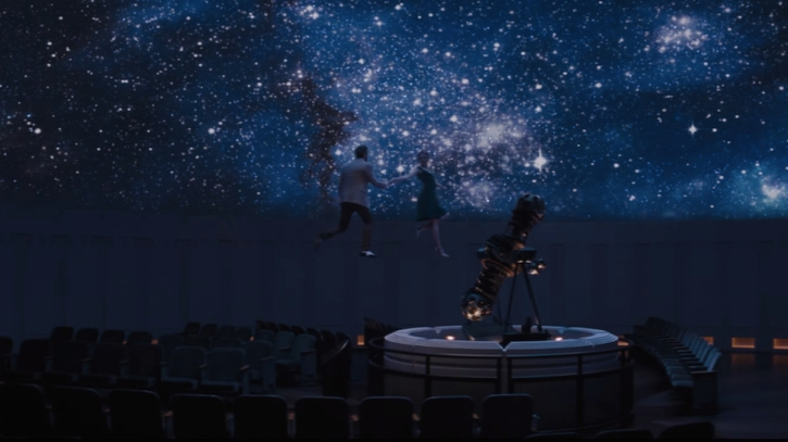 Mia and Seb dance with the stars at Griffiths Observatory