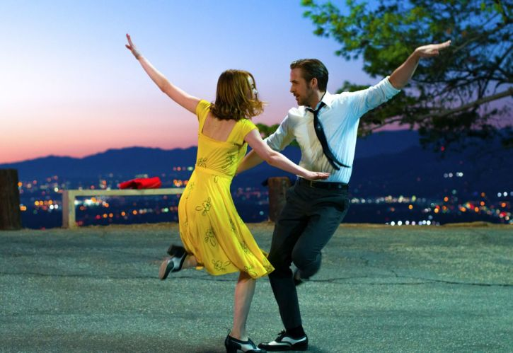 Emma Stone and Ryan Gosling dance the night away