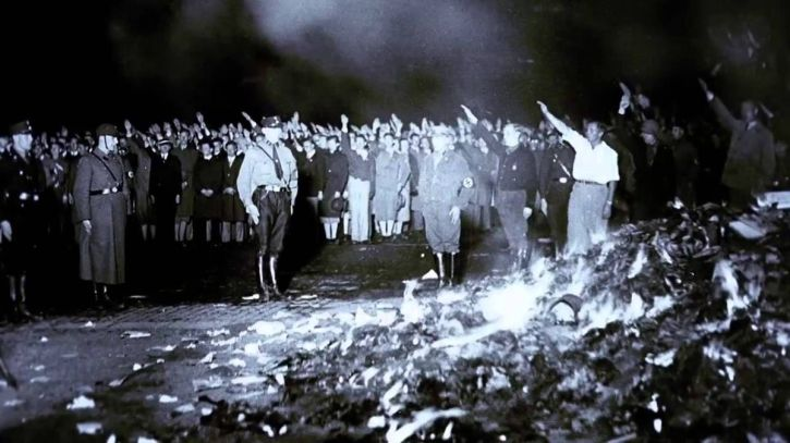 Nazi book burning, 1933