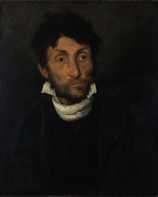 Théodore Géricault, Portrait d'un kleptomane.