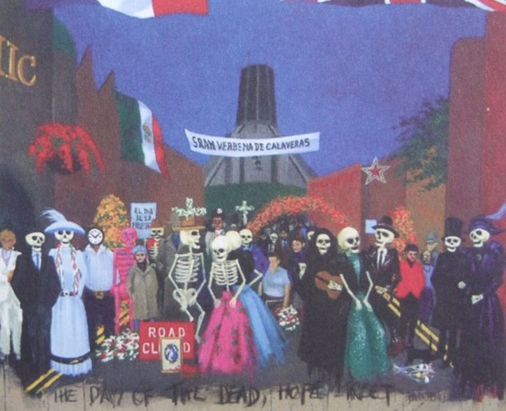 Adrian Henri, The Day of the Dead, 1998