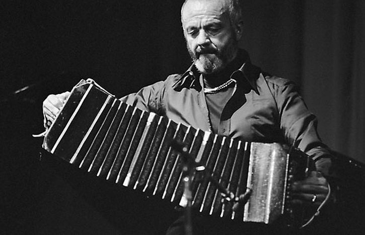 Astor Piazzolla pictured in 1974
