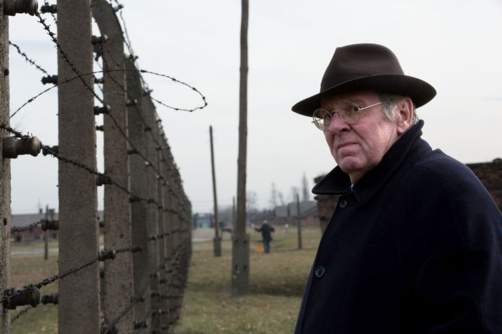 Tom Wilkinson as barrister Richard Rampton at Auschwitz
