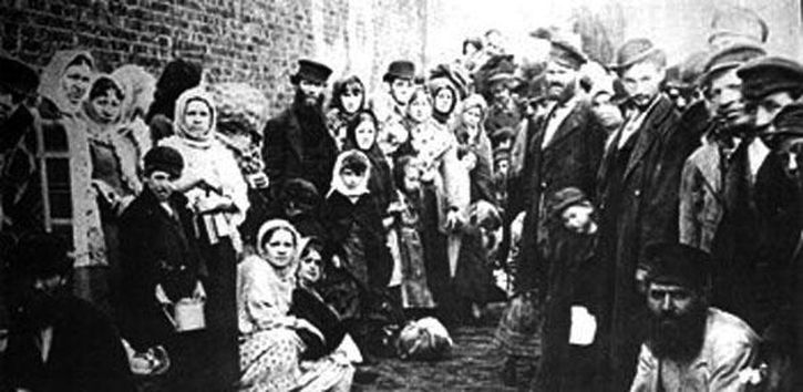 Jewish refugees in Liverpool in 1882