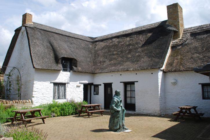 John Clare's cottage still stands in Helpston