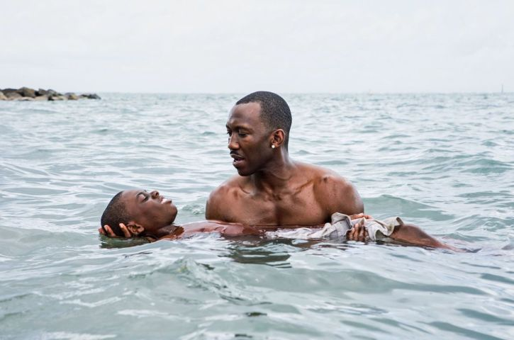 Mahershala Ali and Alex Hibbert in Moonlight