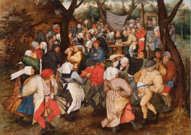Pieter Breughel the Younger, Wedding Dance in the Open Air