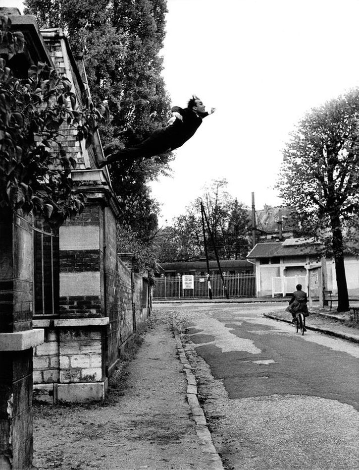 Yves Klein, Leap Into the Void, 1960