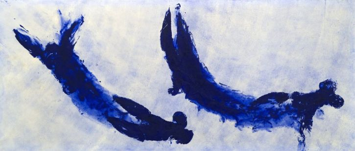 Yves Klein, Untitled Anthropometry (Ant 84), 1960