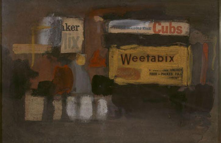 Adrian Henri, City Painting, 1956
