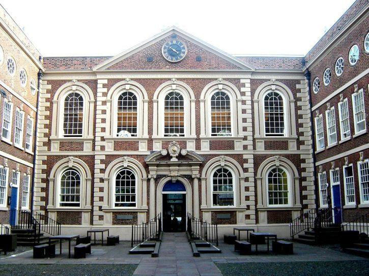 The Blucoat courtyard today