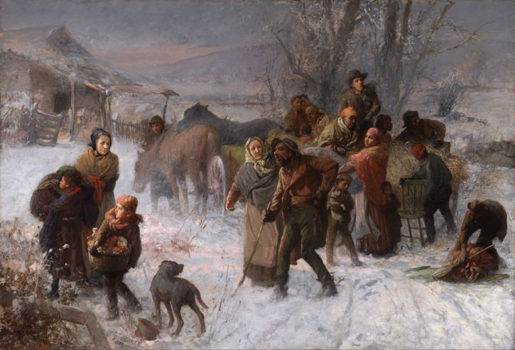 Charles T. Webber, The Underground Railroad, 1893