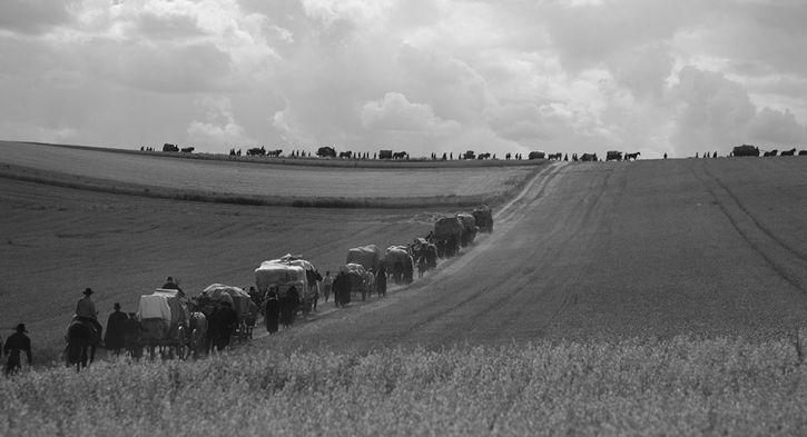 Emigrants on the move