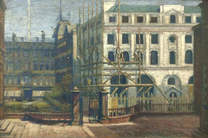 Edward Carter Preston, View from Blucoat Forecourt, c1909