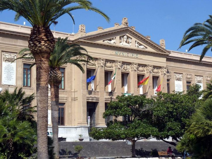 The Palazzo Zanca sede del Municipio, venue for the Messina Conference