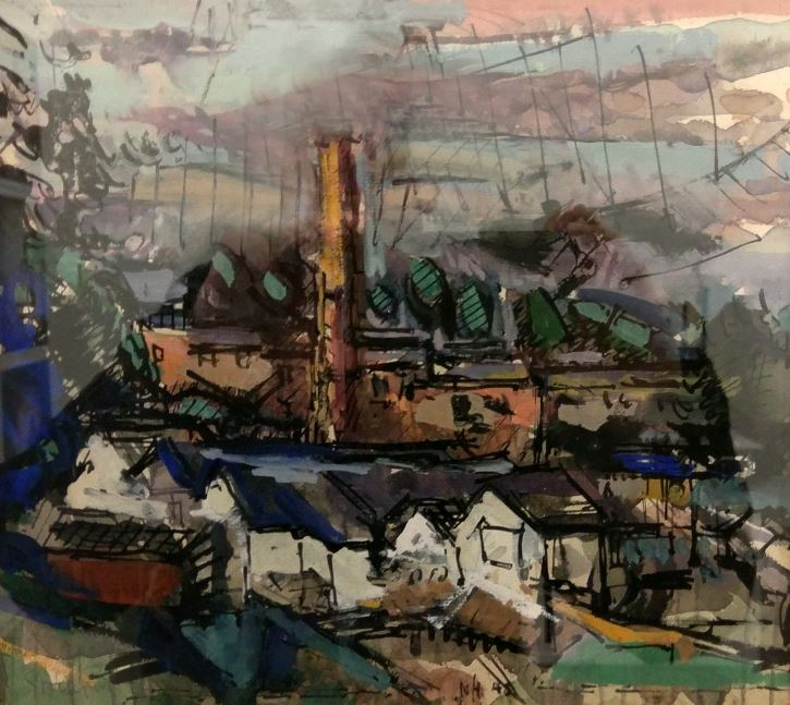 Nicholas Horsfield, Untitled Study, Stockport, 1948