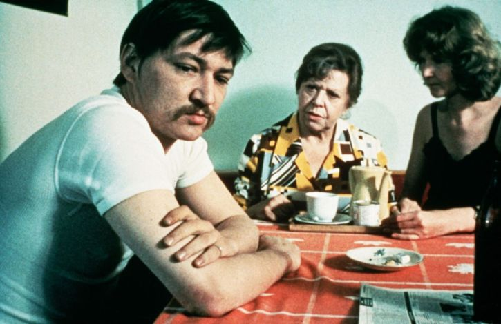 Fassbinder as Emmi's son in Fear Eats the Soul