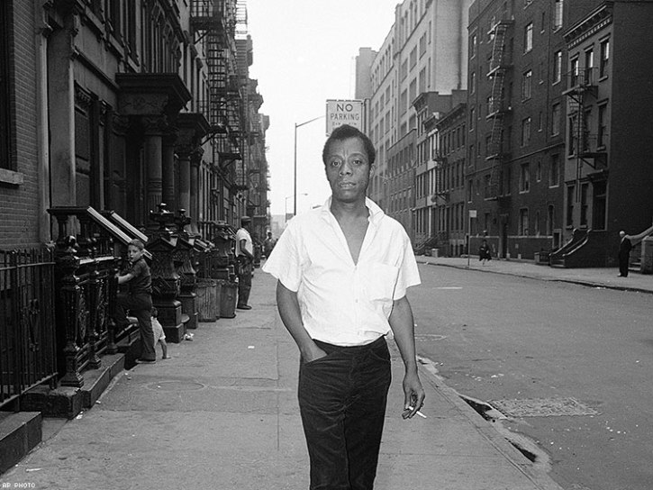 James Baldwin in New York in the 1960s